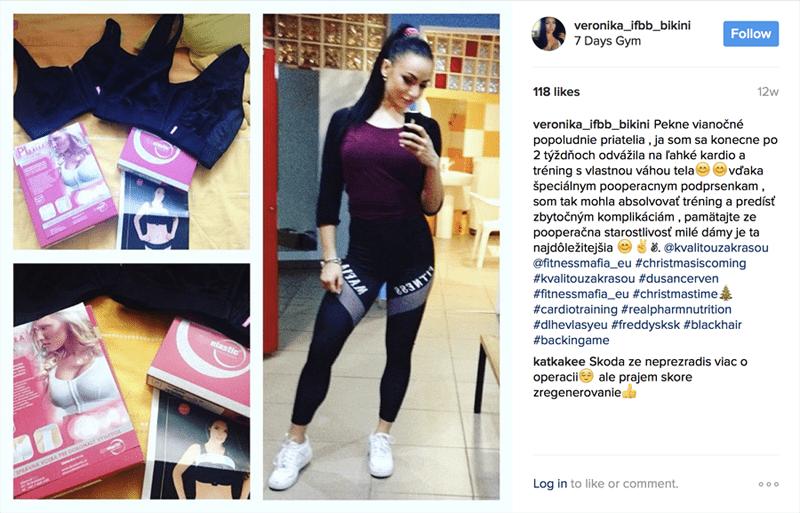 Veronika Guľášová Instagram