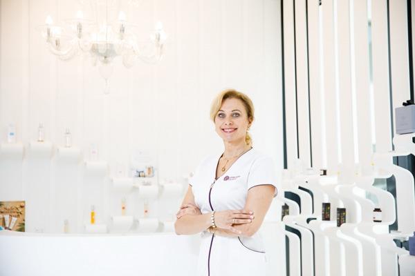 Estetická dermatologička Diana Višňovská
