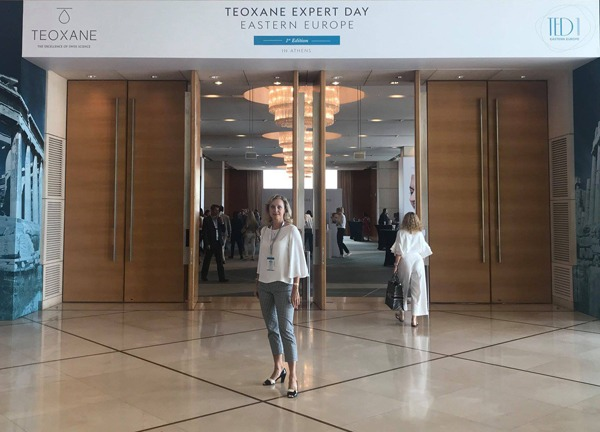 Mudr Višňovská na TEOXANE Expert Day v Aténach